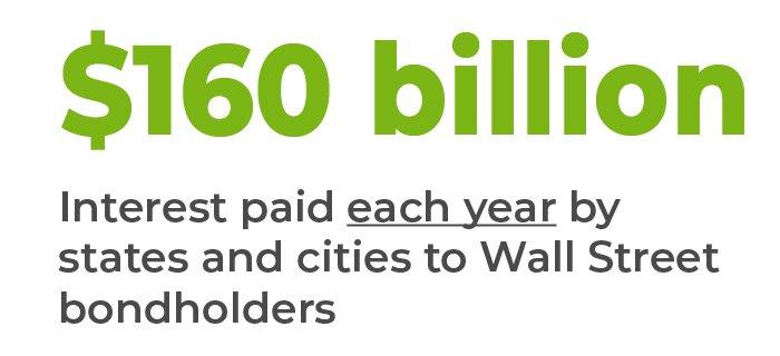 $160 billion in interest paid